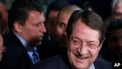 Yeni Kıbrıs Rum Cumhurbaşkanı Nikos Antastasiyades