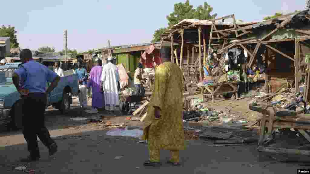 Bom a Maiduguri, Yuni 22, 2015.