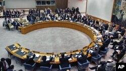 Suasana sidang Dewan Keamanan PBB (Foto: dok). DK PBB dengan suara bulat menyepakati resolusi untuk memperpanjang keberadaan penjaga perdamaian di Sudan Selatan setahun ke depan (5/7).
