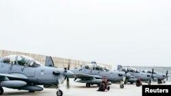 در حال حاضر ۱۲ جت نوع A-29 در اختیار نیرو های هوایی افغانستان دارد