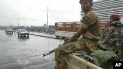 Wasu sojojin Ethiopia kenan cikin mota