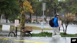 Siêu bão Sandy tiến vào miền đông Hoa Kỳ