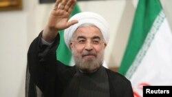 伊朗新总统、温和派的穆斯林神职人员哈桑·鲁哈尼