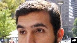 Najibullah Zazi, the admitted mastermind of a foiled plot to bomb New York City subways (Sept 2009 file photo)