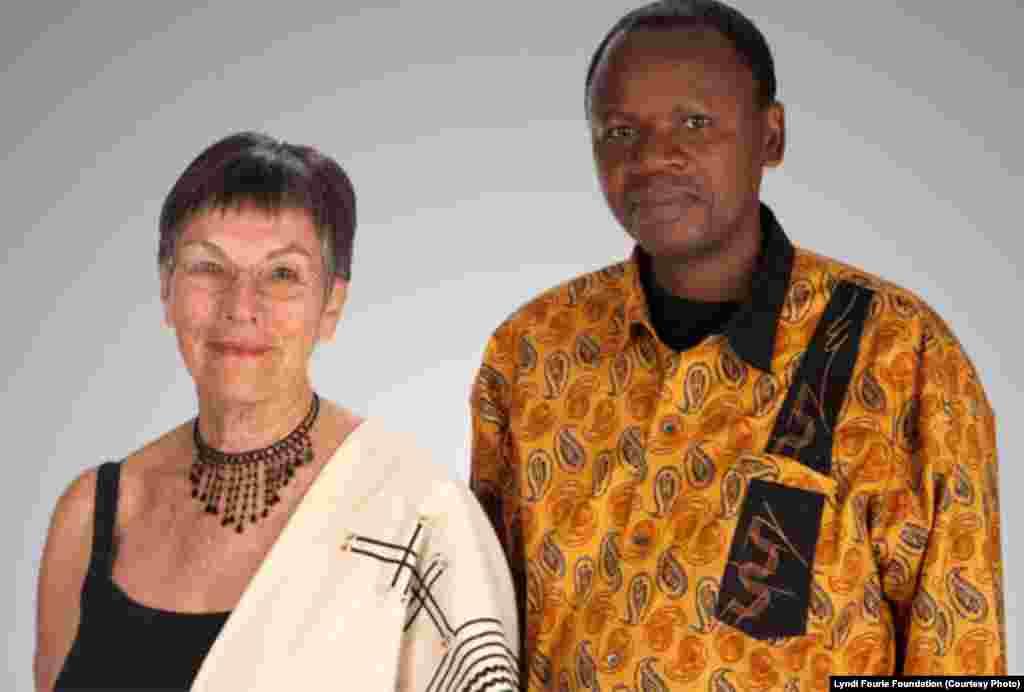 Ginn Fourie et Letlapa Mphahlele.