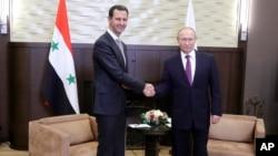 Assad va Putin Sochida uchrashmoqda, 20-noyabr, 2017-yil