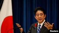 日本首相安倍晋三。(资料图片)