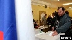 俄羅斯首都莫斯科選民投票選舉市長