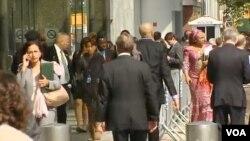 유엔 총회, 뉴욕 상인들 대목