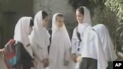 سوات میں لڑکیوں کا سکول