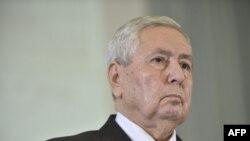 Le chef de l'Etat algérien par intérim Abdelkader Bensalah