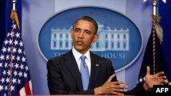 El presidente Barack Obama dio una conferencia de prensa sobre los diversos temas de la agenda estadounidense.