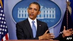 Presiden Obama menegaskan kembali di Gedung Putih, bahwa penggunaan senjata kimia Suriah akan mengubah arah kebijakan AS (30/4).