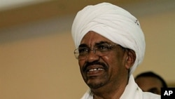 Sudanese President Omar al-Bashir (file photo)