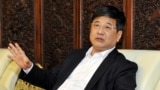 FILE - Zheng Xiaosong, the head of China's liaison office in Macau, was secretary of the Fujian Provincial Committee of the Communist Party of China, April 23, 2016.