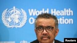 Dirjen Organisasi Kesehatan Dunia (WHO), dr Tedros Adhanom Ghebreyesus. (Foto: dok).