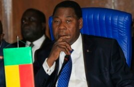 Benin's President Thomas Yayi Boni attends the 43rd Economic Community of West African States (ECOWAS) meeting in Abuja, July 17, 2013.