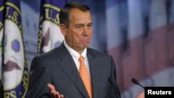 Todas las miradas y las presiones apuntan a la Cámara de Representantes de EE.UU. Su presidente, el republicano, John Boehner, en el centro del debate.