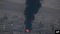 Các cuộc không kích ở Kobani, Syria - Chủ nhật 19/10/2014