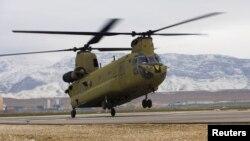 한국이 미국에 판매를 요청한 치누크 헬기. (자료사진)