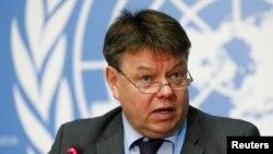 Người đứng đầu Tổ chức Khí tượng Thế giới Petteri Taalas.