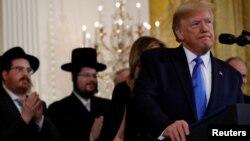 Президент США Дональд Трамп. Вашингттон. 11 декабря 2019 г.