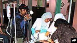 印尼再次发生强烈地震 死亡人数仍在上升