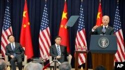 拜登7月10日在美中年度对话开幕式上讲话 杨洁篪、汪洋在座