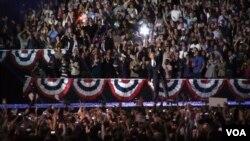 组图:美国大选投票日现场抓拍(2)