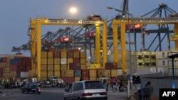 Le port de Lomé