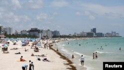 Пляжі Маямі після відкриття, Червень, 2020.