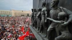 自由来之不易 白俄罗斯民众继续抗议