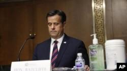 Novi direktor nacionalnih obaveštajnih službi Džon Retklif na pretresu o potvrdi nominacije u Senatu, 5. maj 2020 (Foto: AP/Andrew Harnik)