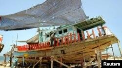 Perahu milik anggota masyarakat gipsi Thailand di Phang Nga, Pesisir Andaman. (Foto: Dok)