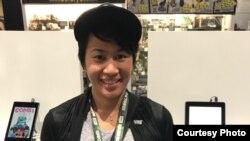 """Alti Firmansyah, komikus Indonesia yang terlibat dalam penggarapan komik produksi Marvel dan """"Goliath Girls."""" (Dok: Alti Firmansyah)"""