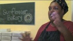Pelatihan Tata Boga Sunflower Bakery - Liputan Feature VOA Maret 2012