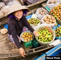 Người dân ở khu vực đồng bằng sông Mekong