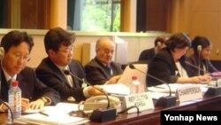 제네바 유엔 유럽본부에서 열린 제36차 유엔 고문방지협약위원회 회의 장면(자료사진)