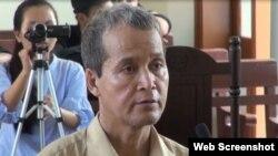 Mục sư Đinh Diêm thuộc Hội thánh Tin lành Lutheran Việt Nam - Hoa Kỳ - Photo VTV