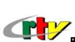 Logo de la CRTV, média d'État au Cameroun.