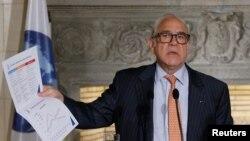 Sekjen OECD, Angel Gurria memperingatkan tingginya tingkat pinjaman perusahaan (foto: dok).