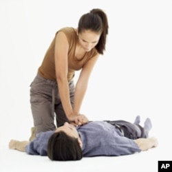 A new study suggests that, in CPR, chest compressions - and not mouth-to-mouth - are the real life-savers
