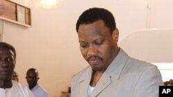 Hama Amadou, candidat de l'opposition au second de l'élection présidentielle au second tour