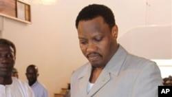 Hama Amadou, candidat de l'opposition pour le second tour de l'élection présidentielle au Niger.
