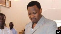 Hama Amadou, opposant candidat à la présidentielle emprisonné.
