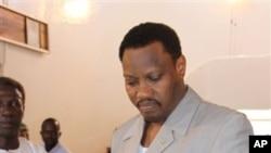 Hama Amadou, candidat de l'opposition rival du président sortant nigérien au second tour de l'élection présidentielle