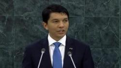 Allocution du President Andry Nirina Rajoeolina-Madagscar