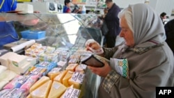 Prizor sa pijace u Minsku