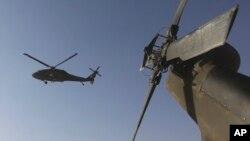 Вертолеты Игоря Сикорского Black Hawk в Афганистане