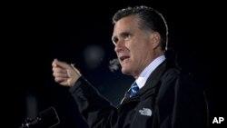 9일 오하이오에서 연설하는 미트 롬니 미국 대통령 후보.
